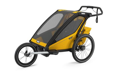 Thule Chariot Sport 2 Spectra Yellow 2021 + RunSet