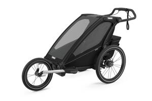 Thule Chariot Sport 1 Midnight Black 2021 + RunSet